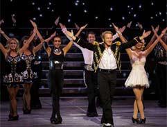 Top Billing meets the Lord of the Dance ahead of world tour