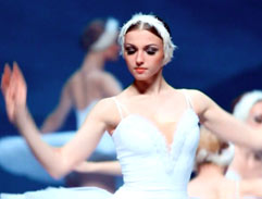 Top Billing meets the star of Swan Lake