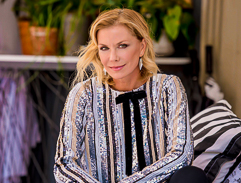 Top billing meets with Katherine Kelly Lang as she visits South Africa