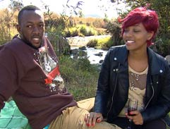 Top Billing shows reality tv power couple Oneza around Joburg