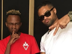 Top Billing spends quality time with South African rapper, Kwesta