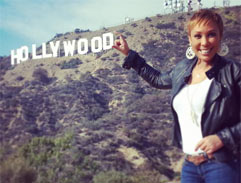 Ursula and Unathi explore Hollywood