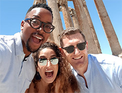 We explore Athens with Cameron van der Burgh & Nefeli Valakelis