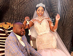 We feature the incredible wedding of Natasha & Kagiso Dibotelo