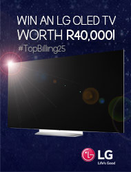 Win an LG OLED TV worth R40,000!