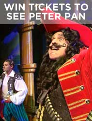 WIN PETER PAN TICKETS