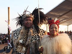Zuma wedding sees two cultures meet