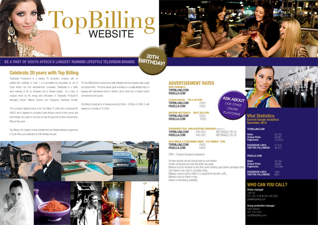 Advertise with Top Billing 1
