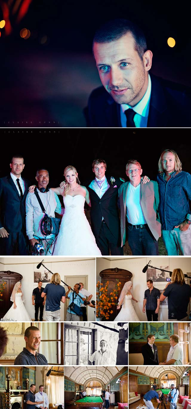 Behind the scenes of mike and Candice Eilertsen's wedding featured on Top Billing 2
