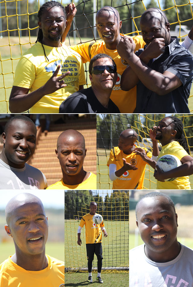 Top Billing Behind the scenes with the kaizer chiefs