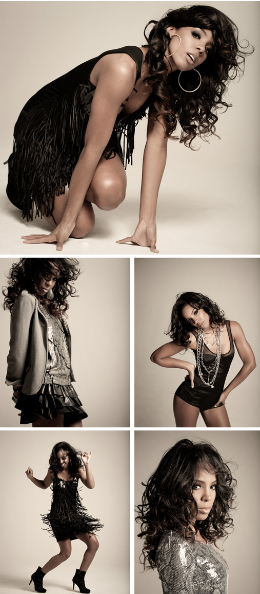 Behind The Scenes with Kelly Rowland