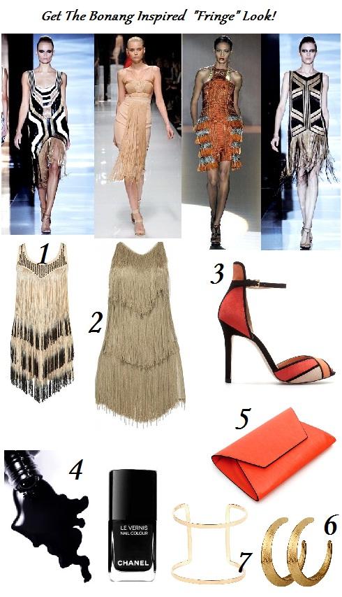 Get Bonang S Great Gatsby Inspired Fringe Look