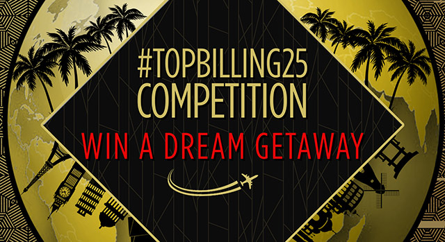 Top Billing 25th birthday getaways
