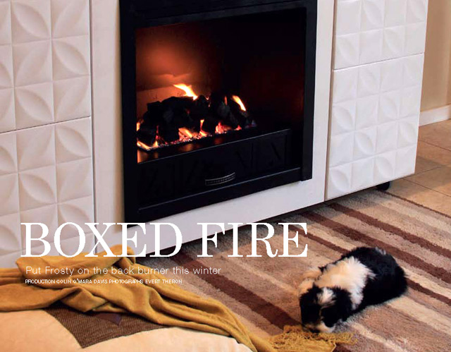 DIYBuild your own gas fireplace