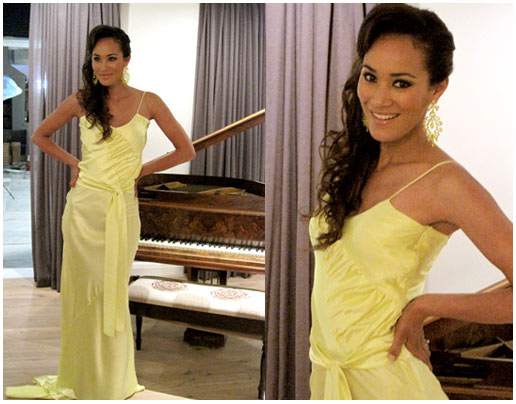 Jo-Ann Strauss dressed by