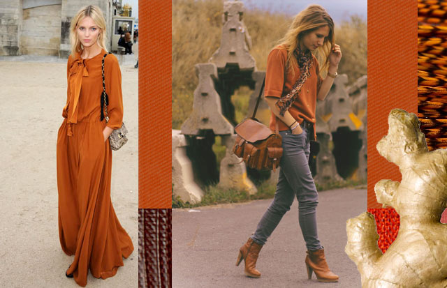 Top Billing's Fashion Editor Alexis Chaffe gives us tips for wearing burnt orange