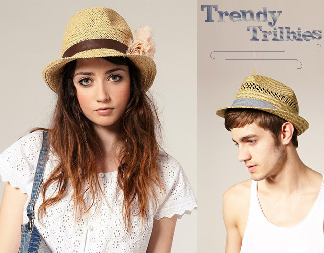 Top Billing Fashion Tip - trilby hats