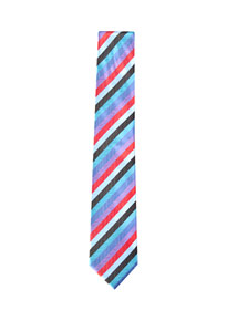 The candy striped tie