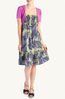Woolworths tropical dress