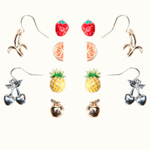 Woolworths tropical earrings