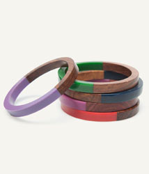 Woolworths fashion tribal bangles