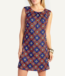 Woolworths fashion tribal shift dress