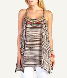 Woolworths tribal hanky top