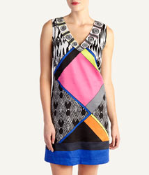 Woolworths tribal shift dress