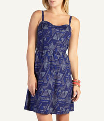 Woolworths tribal skater dress