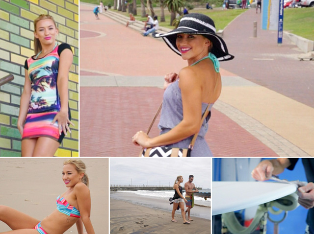 Roxy rocks the hottest swimwear trends fin Durban