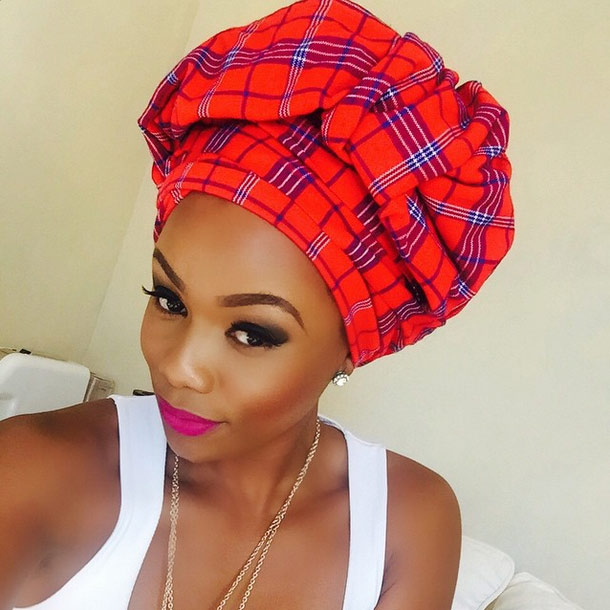 How to tie a head scarf Top Billing