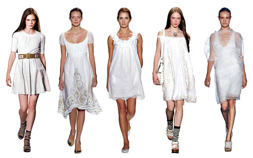 fashion tip: little white dress