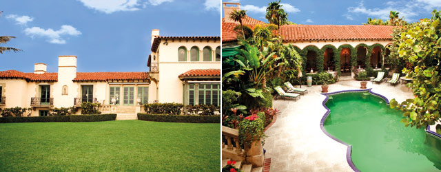 Ivana Trump's Miami home on Top Billing - outside house