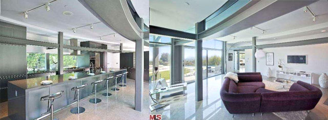 Justin Bieber glass mansion Beverly Hills