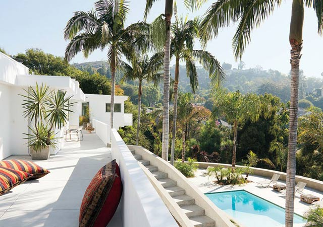 The Hollywood Hills home of Adam Levine