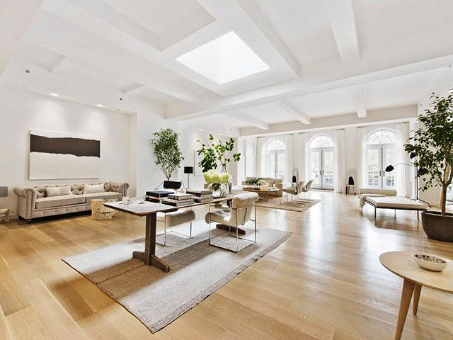 The beautiful New York Penthouse apartment of Jennifer Lopez