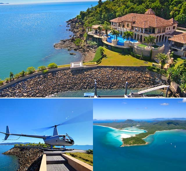 Great Barrier Reef mansion