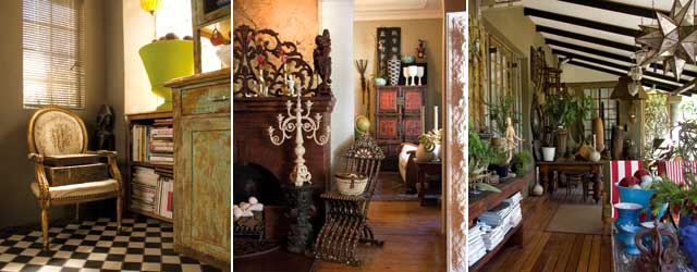 Anthony Harris and Gerhard Swart decor feature