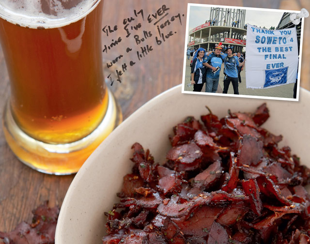 Jeremy and Jaqui Mansfield's Zhoozshed Biltong
