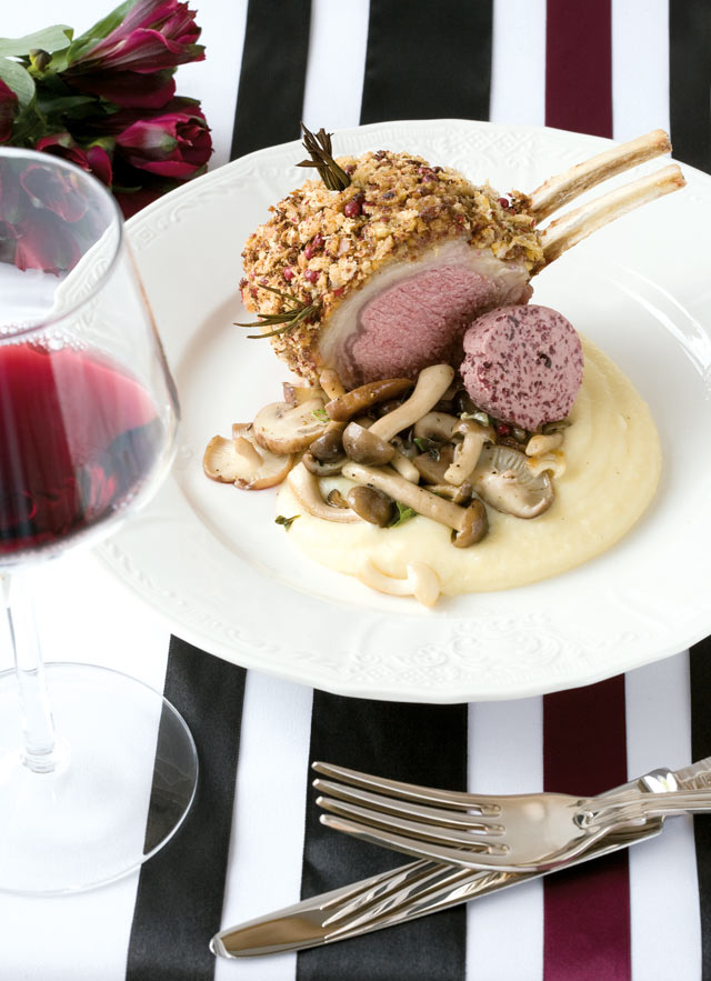 Lamb rack recipe