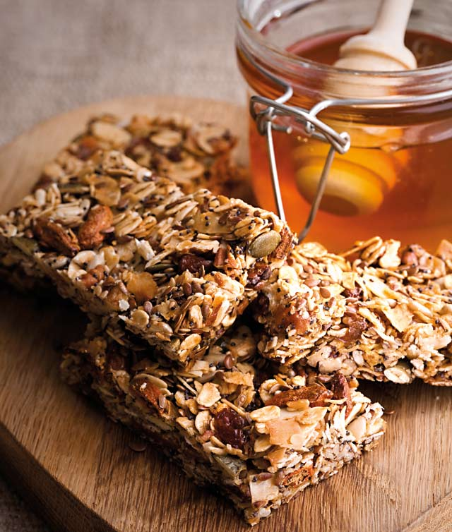 Healthy seed bars recipe