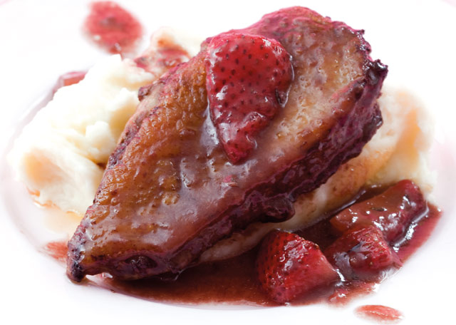 Strawberry duck recipe