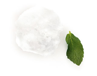 Top Billing Verjuice-mint sorbet
