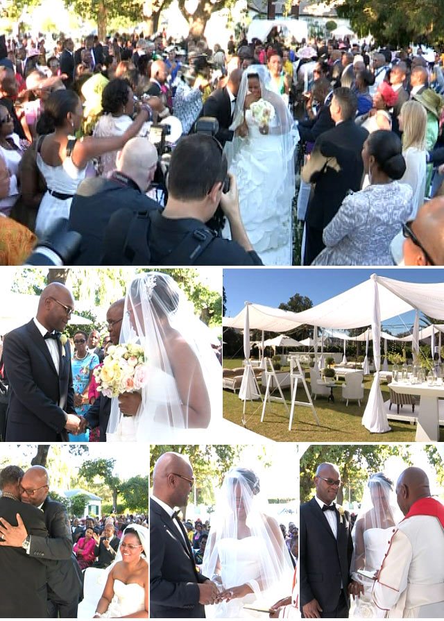 Nathi Mthethwa and Philisiwe Buthelezi's wedding on Top Billing