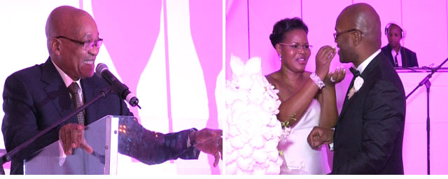 Minister Nathi Mthethwa and Philisiwe Buthelezi's wedding on Top Billing