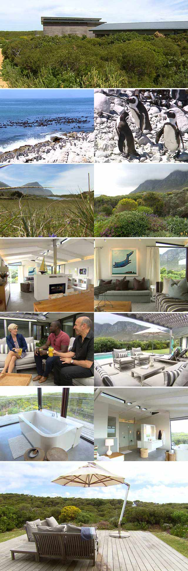 Top Billing features Bettys Bay beach house