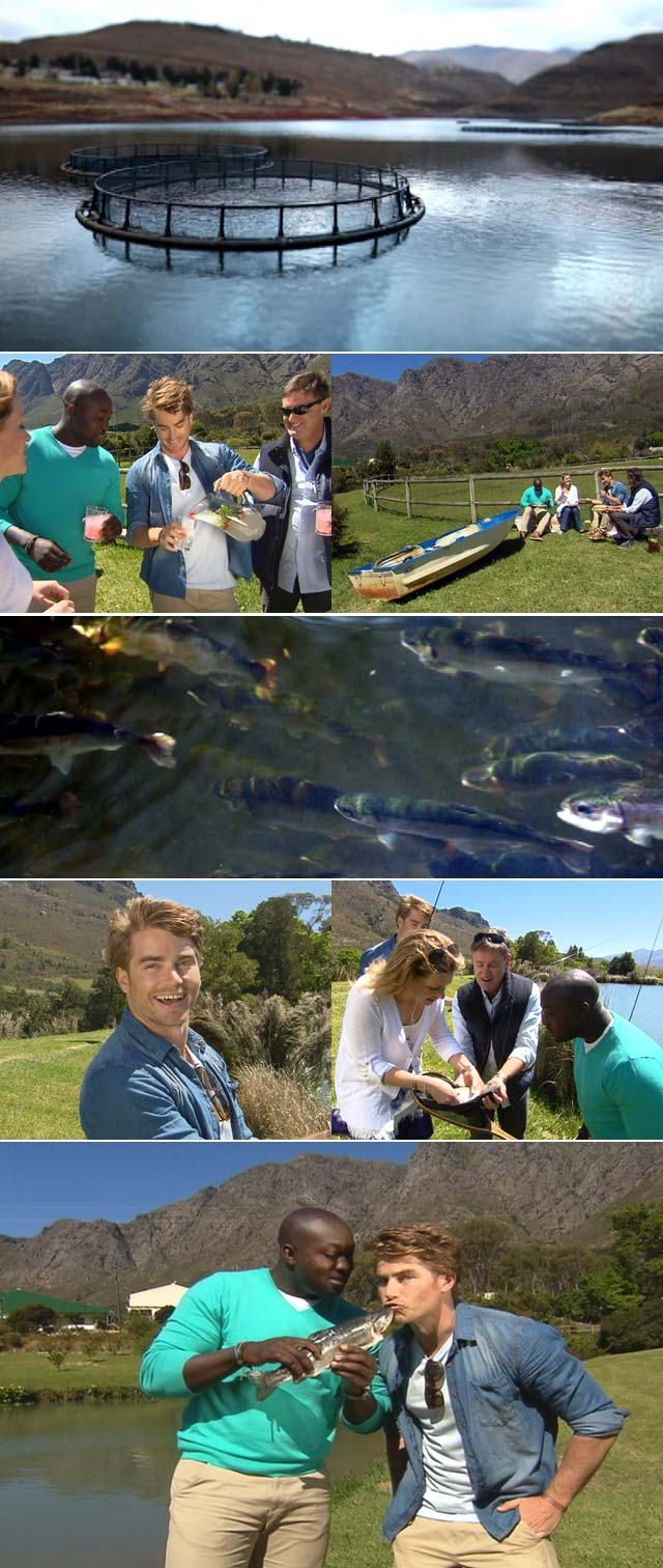 Fishing with Hayden Quinn on Top Billing