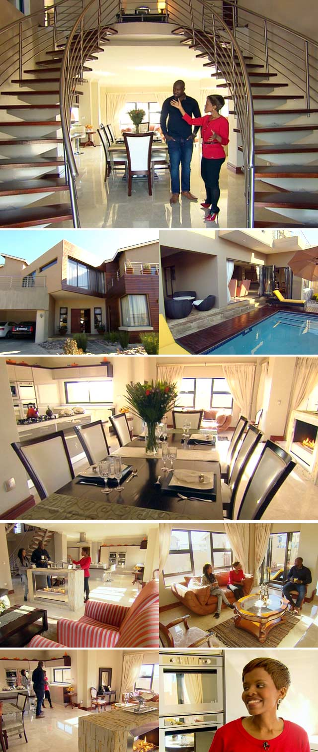 Top Billing features a home by architect Buhle Mathhole