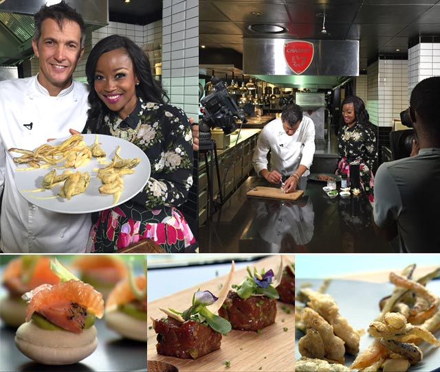 Canape recipes with David Higgs on Top Billing