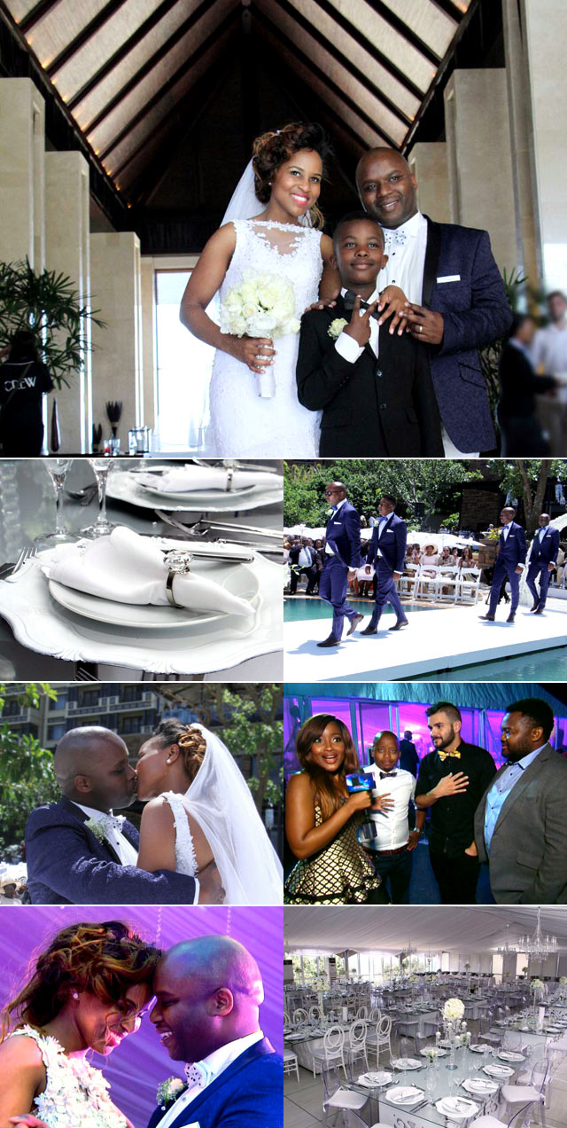 Sibabili Magubane and Nokubonga Ngcobo wedding on Top Billing